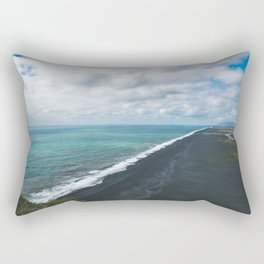 Endless Coastline Rectangular Pillow