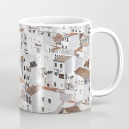 HOUSES - TALL - WHITE Coffee Mug