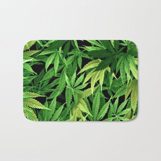 Cannabis Bath Mat