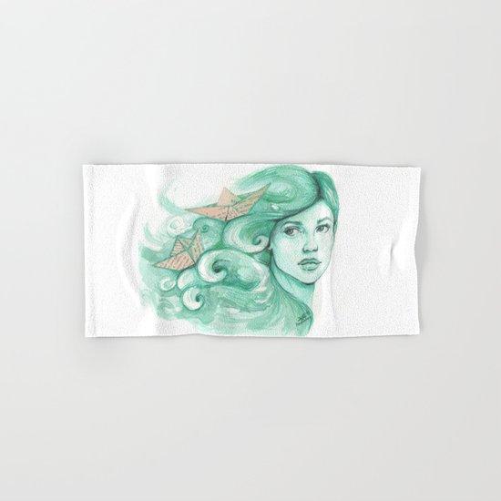 Paper ships Hand & Bath Towel