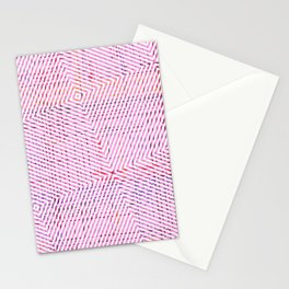 The System - pink Stationery Cards