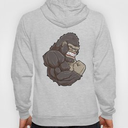 Gorilla At The Gym | Fitness Training Muscles Hoody