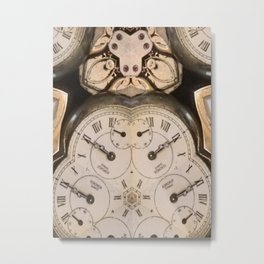 Tic Toc Metal Print