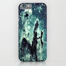 Nebula Galaxy : Teal Pillars of Creation iPhone 6s Slim Case