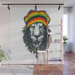 LION--MARLEY Wall Mural