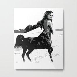 Brigitte Bardot Sagittarius  Metal Print