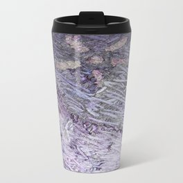 Purple-Starfish Travel Mug