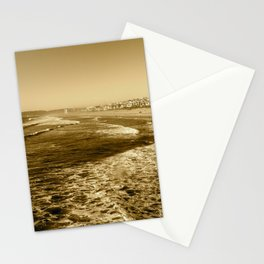 Silent waves Stationery Cards