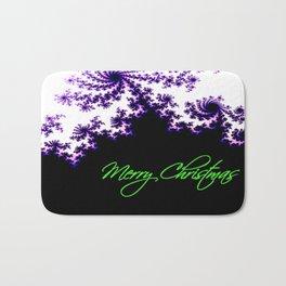 Stars for a Bright Christmas Bath Mat