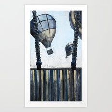 Cool Breeze Art Print