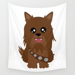 Chewbacca the Yorkie Wall Tapestry