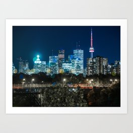 Urban Nights, Urban Lights 7 Art Print