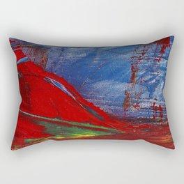 Chinese Mountain Rectangular Pillow