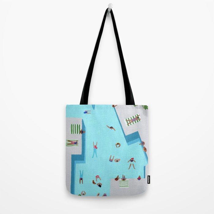 Crisp cut swim Tote Bag