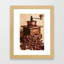 coffee grinder 2 Framed Art Print
