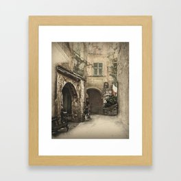 Secret Alleyway Framed Art Print