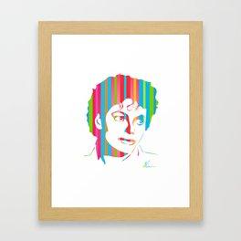 MJ | Pop Art Framed Art Print
