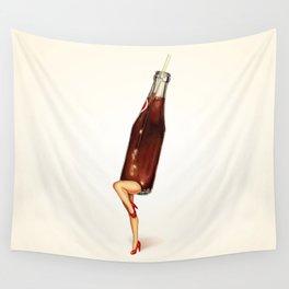 Soda Girl Wall Tapestry