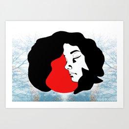 Little Red Riding Hood (1) Art Print