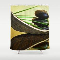 SPA Stones Shower Curtain