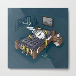 Sleep Modus Metal Print