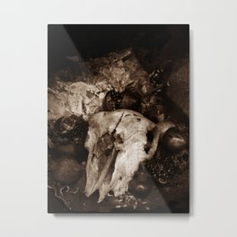 Unworldly Altar Metal Print