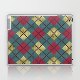Faux Retro Argyle Knit Laptop & iPad Skin