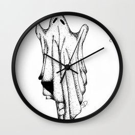 Year as a Ghost Wall Clock
