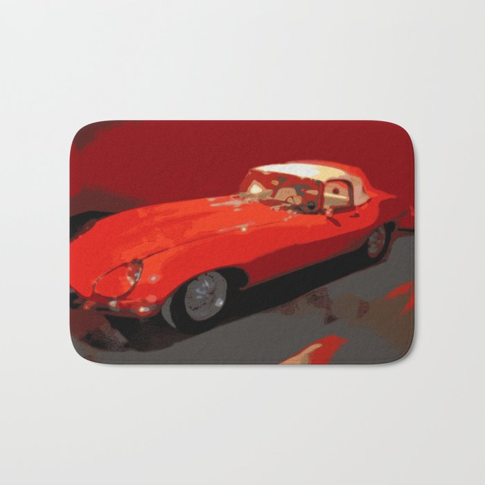 Car | Cars | Vintage 1969 Jaguar  | Nadia Bonello Bath Mat