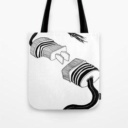 PLUG! Tote Bag