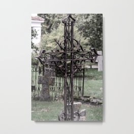 Pirita Cross Metal Print