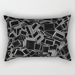 The Book Pile Rectangular Pillow