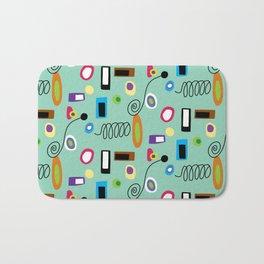 Mod Abstract Green Bath Mat