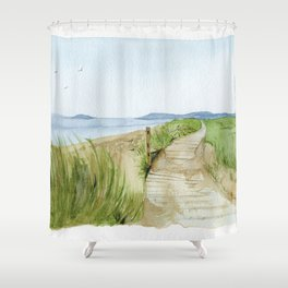 Inverness Beach Shower Curtain