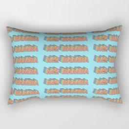 MO BAMBA - Print and Wall Paper Pattern Pop Art Rectangular Pillow