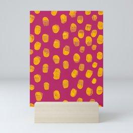 Hot Pink Cold Mustard Mini Art Print