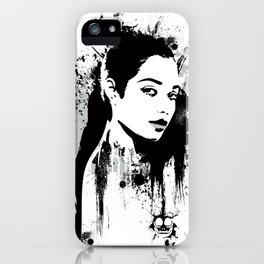 A Girl iPhone Case