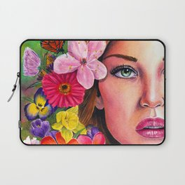 'A New Day' - Watercolour Painting Laptop Sleeve