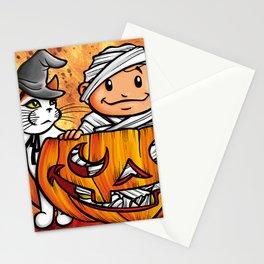 Peekaboo Pumpkin Stationery Cards