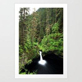 Punch Bowl Falls, Oregon Art Print