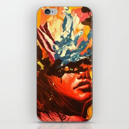 When I need you the most iPhone Skin