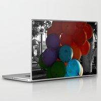 balloon Laptop & iPad Skins featuring balloon by gzm_guvenc