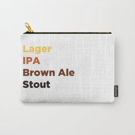 Beer Lover Carry-All Pouch