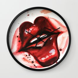 Funny Funny Valntine Wall Clock