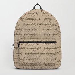 Elvish // Tan Backpack