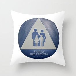 Family Room Throw Pillow