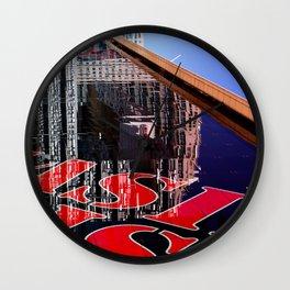 RED LISBON DESIGN Wall Clock