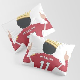 Mo Salah Egyptian King Liverpool Pillow Sham