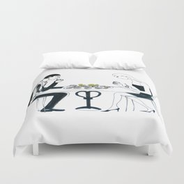 Oyster Feast          by Kay Lipton Duvet Cover