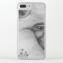 Wren Drypoint Clear iPhone Case